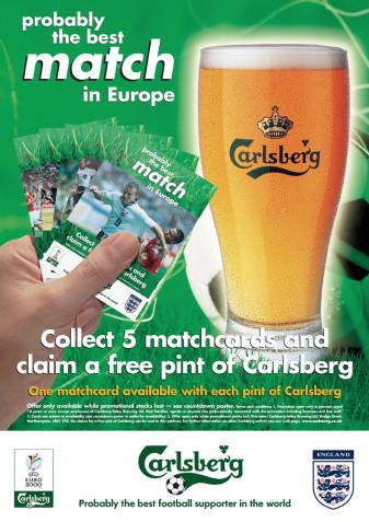 Carlsberg Gamecard