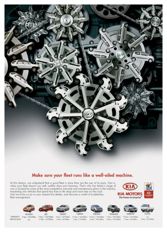 Kia Fleet Ad