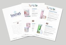 Catalogue Sheets Sanitars