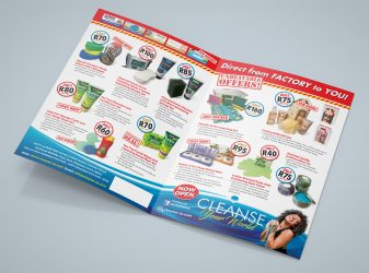 Cleanse Your World Leaflet
