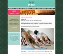 shanti website